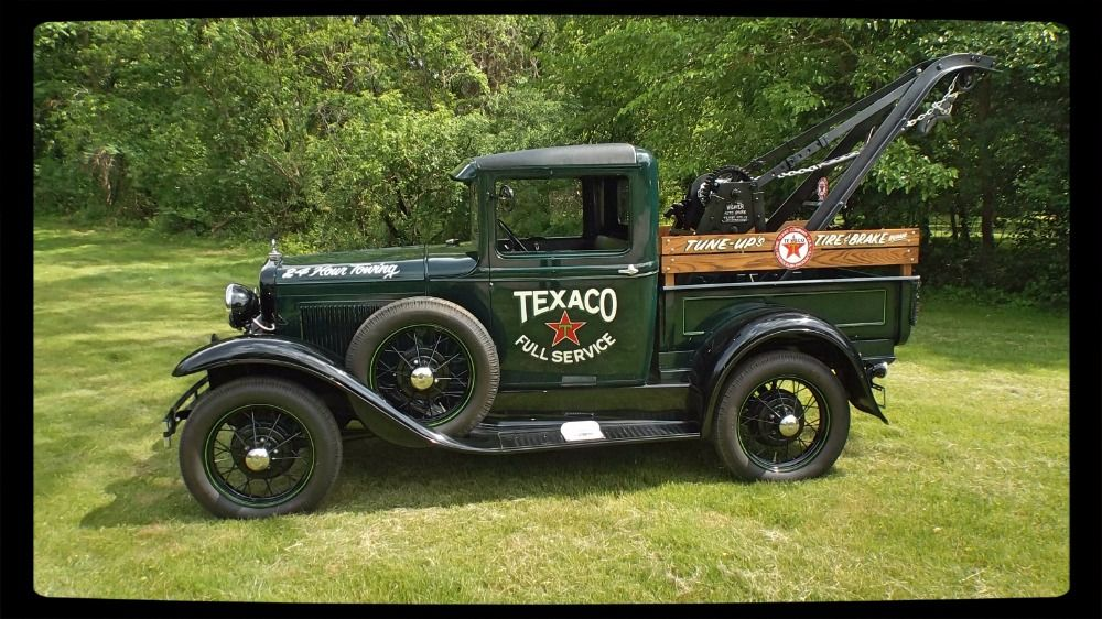 Used 1930 Ford Model A -PICK UP TOW TRUCK- READY FOR SHOW ...