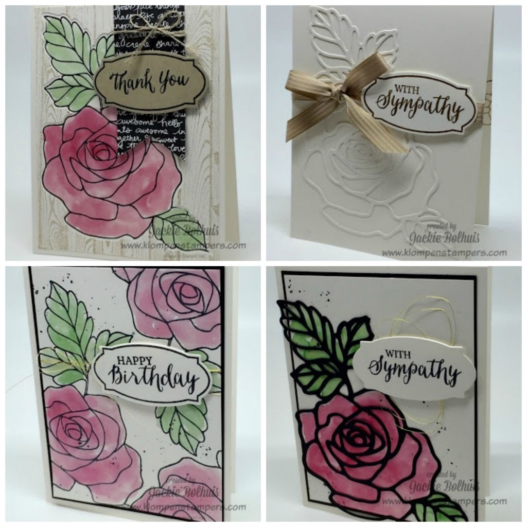 Rose Wonder Technique Series | Klompen Stampers
