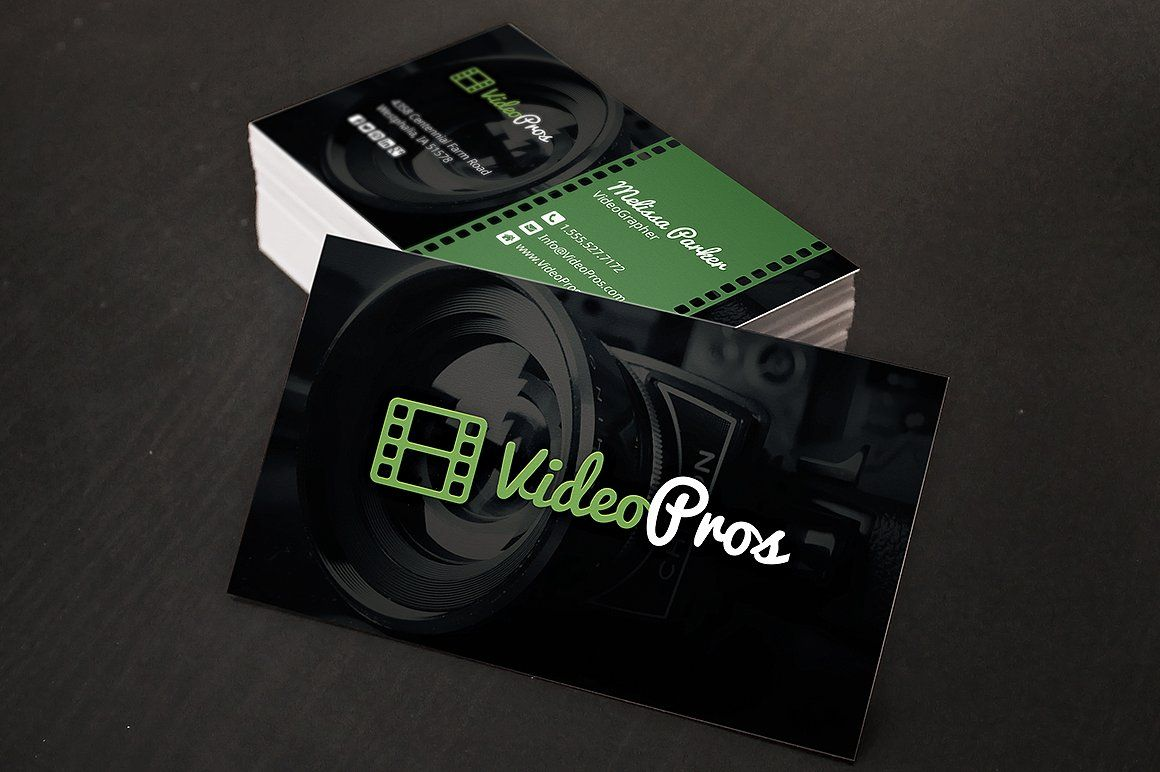 Videography business card by creativenauts on creativemarket videography business card by creativenauts on creativemarket reheart Gallery