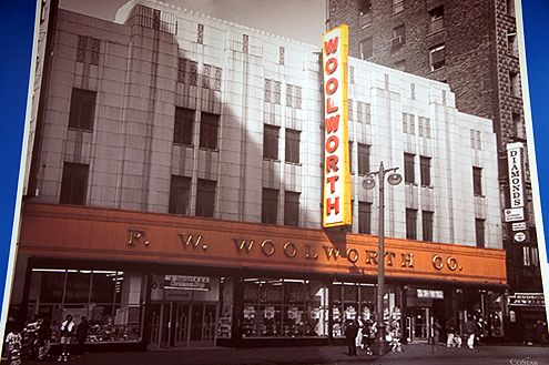 Historic Image Of Woolworth Building On Broadway Dtla Photo By Brighamyen Woolworth Building Downtown La Downtown