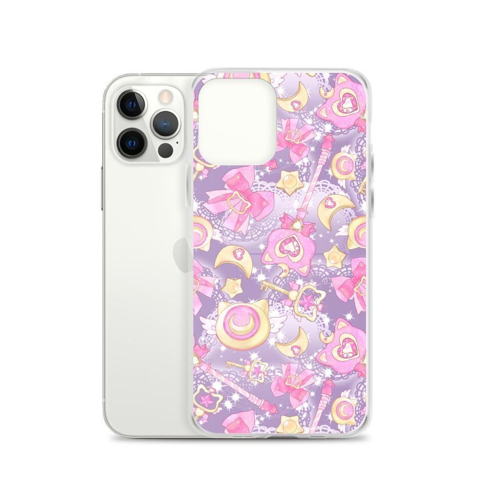 Magical Girl iPhone Case (Purple) - iPhone 12 Pro