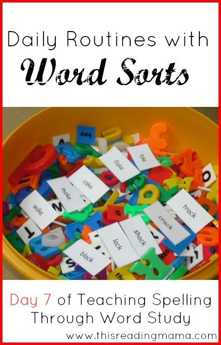 Word sort activities, review, & note booking for spelling (pattern rules)... Try with AAS
