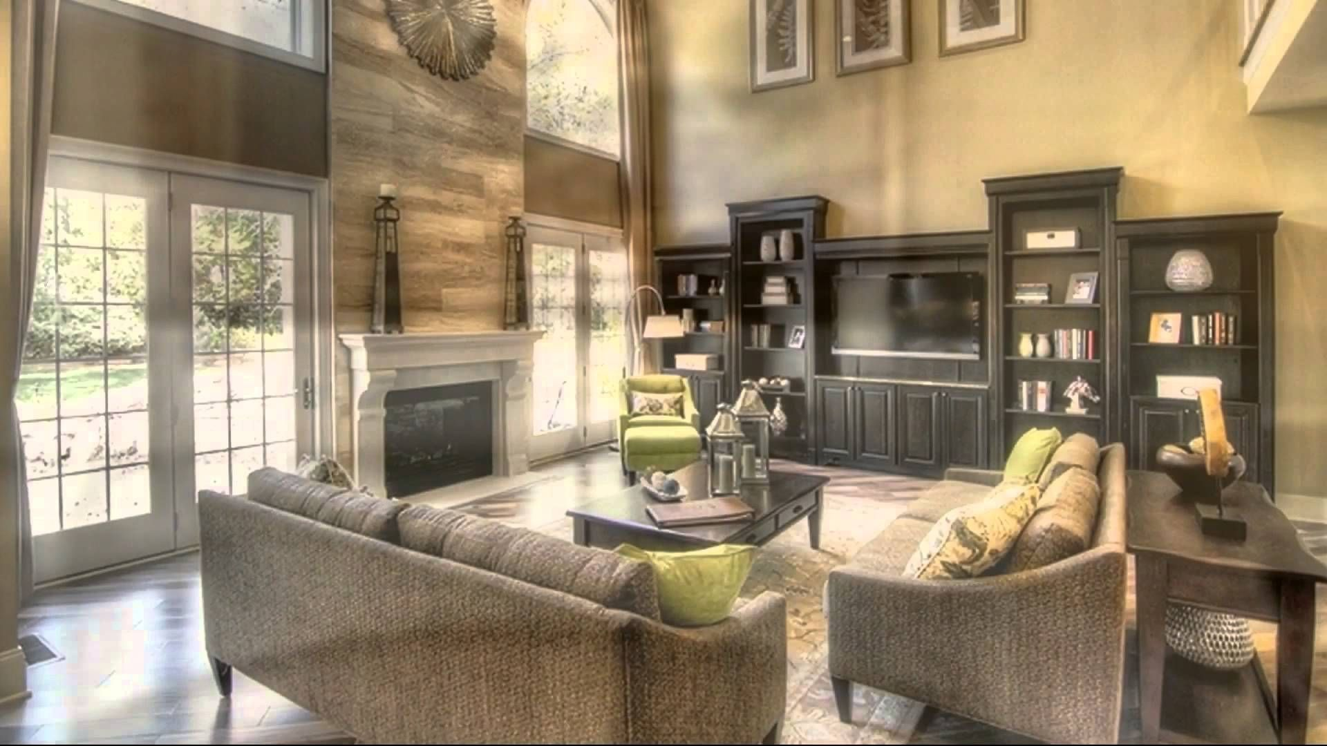 decorate two story family room - google search | family room reno