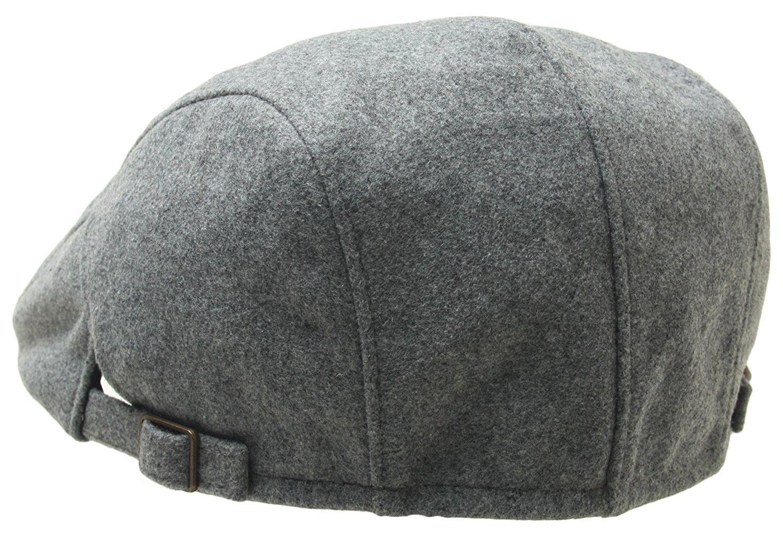 Mens newsboy Cap Winter Hat Elastic Adjustable IVY Flat Cap Gatsby Lined -  89094 navy - C3186S94Y9A  a87db0e1f0cc