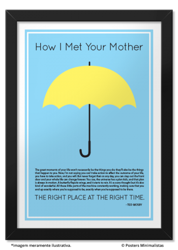 Yellow Umbrella How I Met Your Mother Poster Yellow Umbrella | Hous...