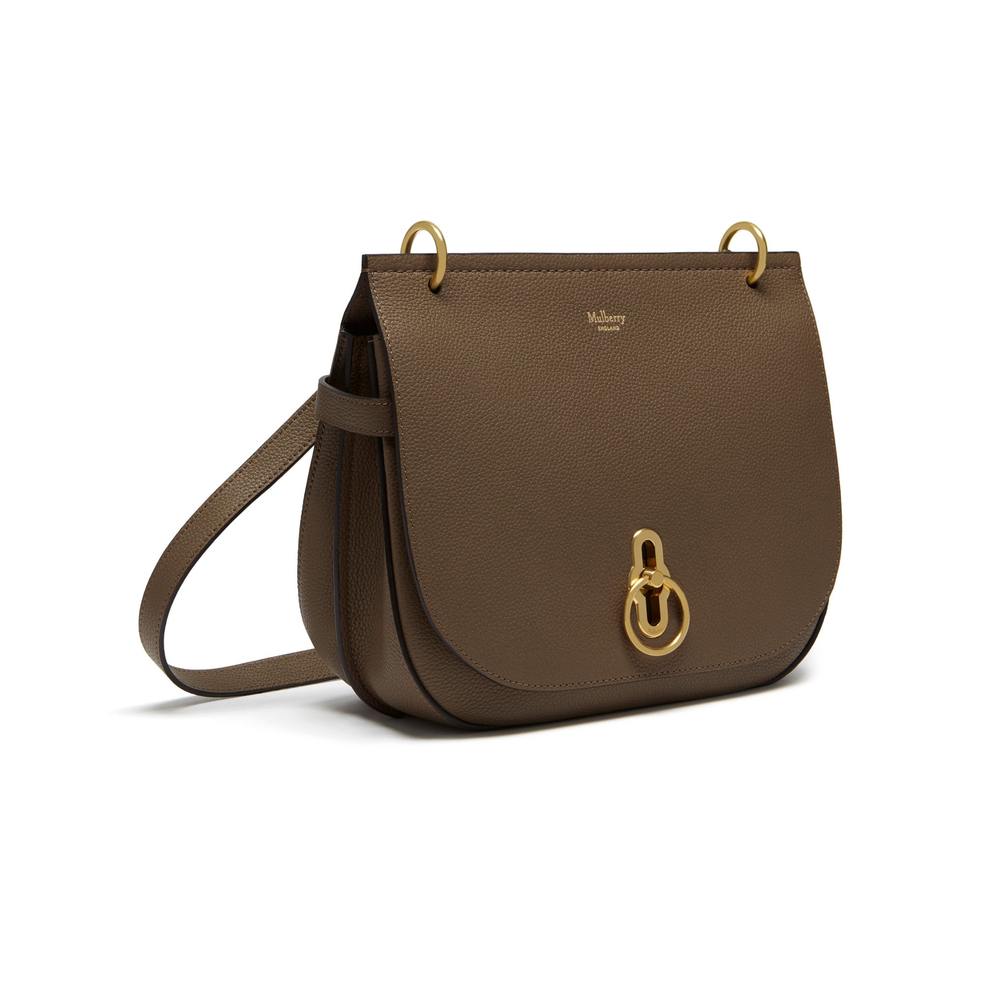 8e702d7a92 Shop the Amberley Satchel in Clay Small Classic Grain Leather at Mulberry.com.  Inspired