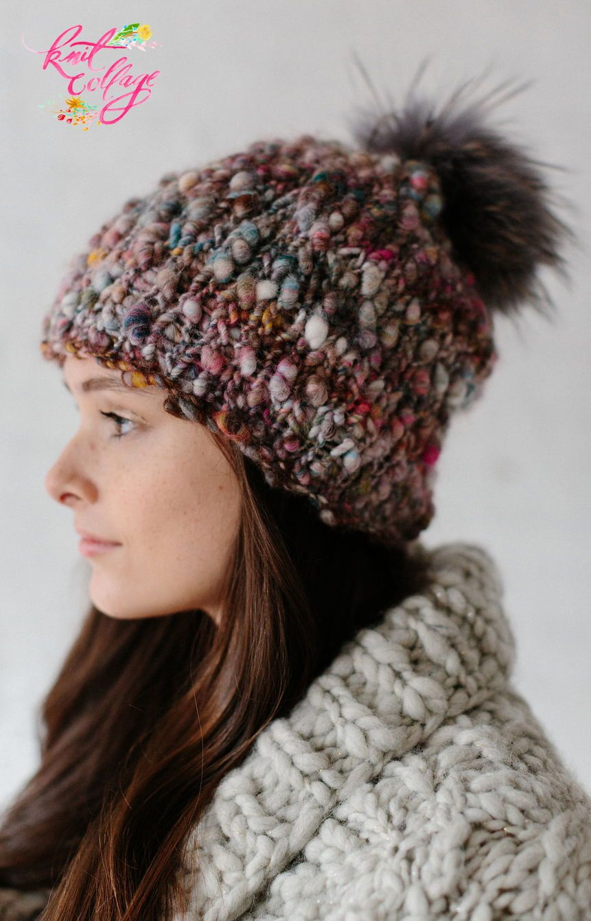 2f0f9388c Perfect Slouch Hat Pattern | Free Patterns | Knit hat pattern easy ...
