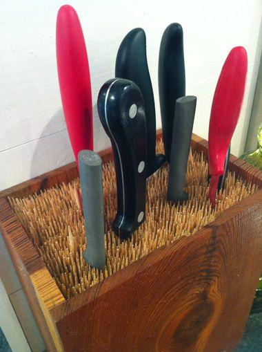 Diy Knife Block Hip Tricks Hip Girl S Guide To Homemaking
