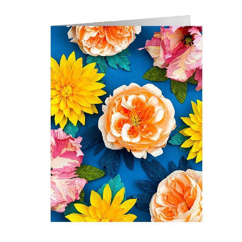 Blue Spring Note cards Set of 5