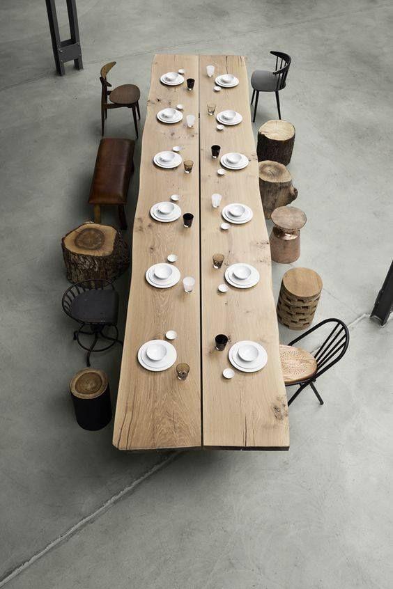 tisch baumstamm selber machen finest tisch selber bauen bohlen patina altes holz x und auch. Black Bedroom Furniture Sets. Home Design Ideas