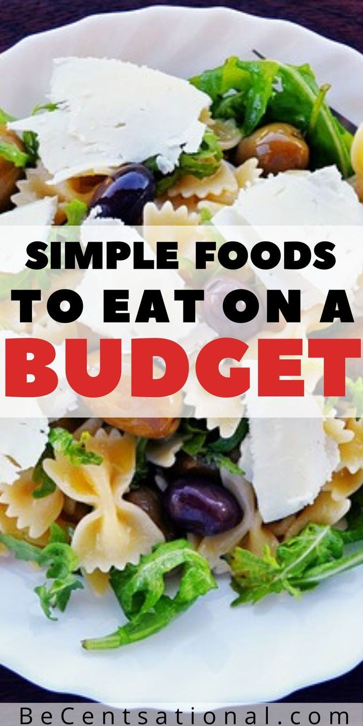 HEALTHY & CHEAP FOODS TO BUY WHEN YOU'RE BROKE in 2020