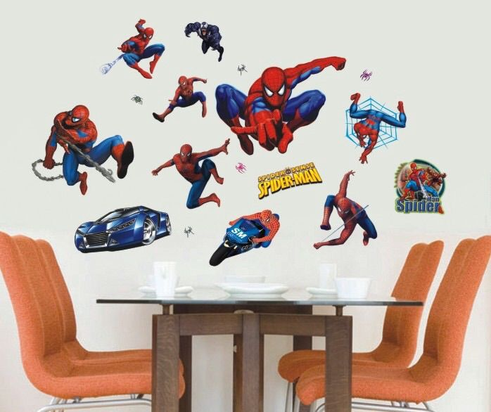 Muurstickers Kinderkamer Spiderman.Muursticker Disney Spiderman Muurstickers Baby En Kinderkamer