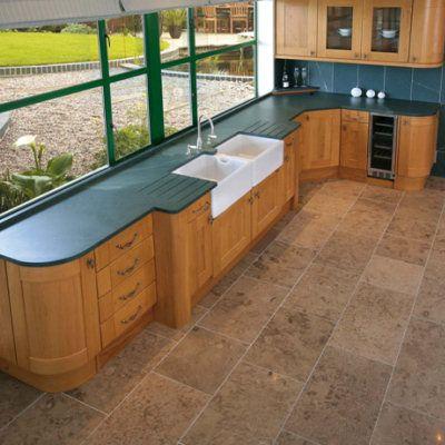 Green Slate Worktop