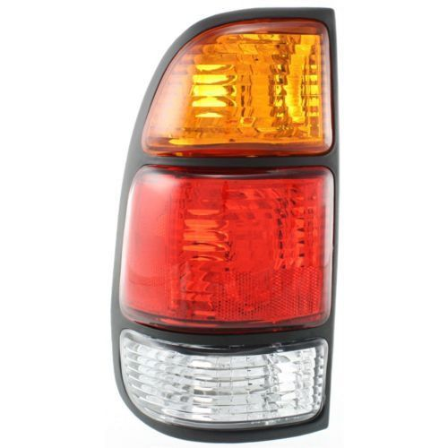 2000-2006 Toyota Tundra Tail Lamp LH,Amber/clear/red Lens,w/Standard