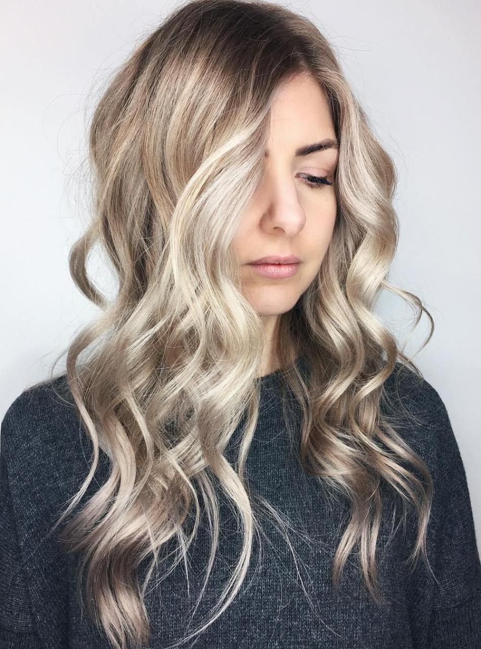 40 Classy Hairstyles for Long Blonde Hair | Dishwater blonde ...