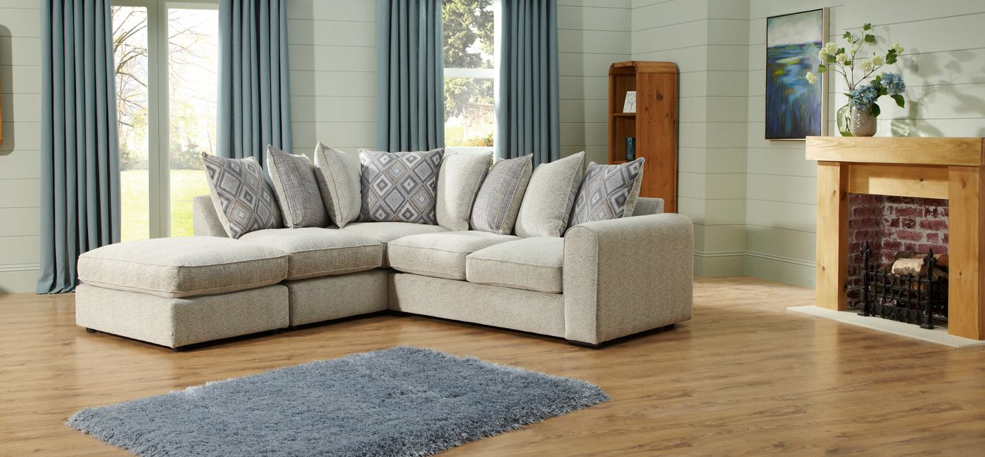 Sofa Cover Monty LHF Corner Group Scatter Back