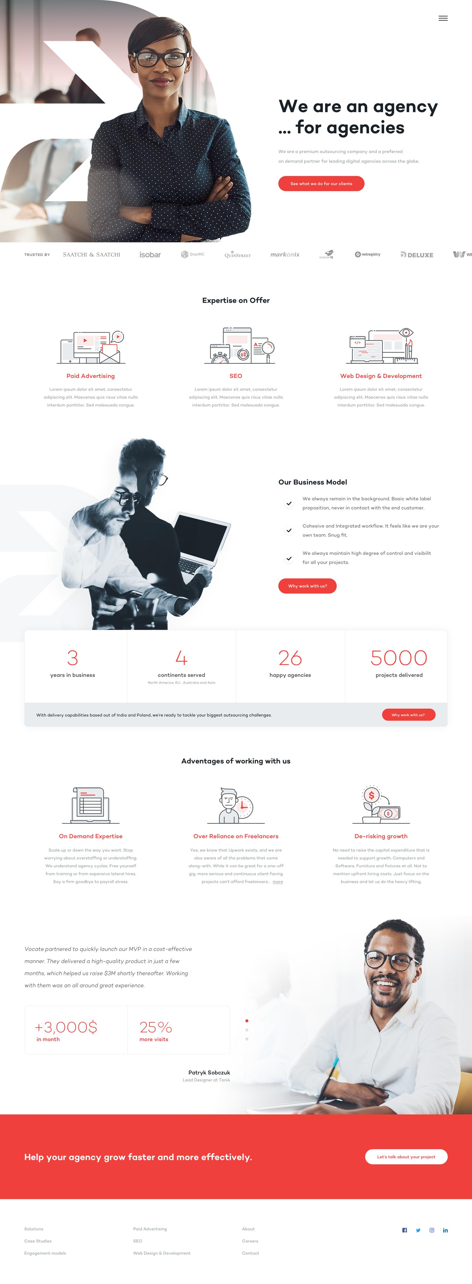 Agency4agency Home Web Design Inspiration Creative Business Web Design Mobile Web Design