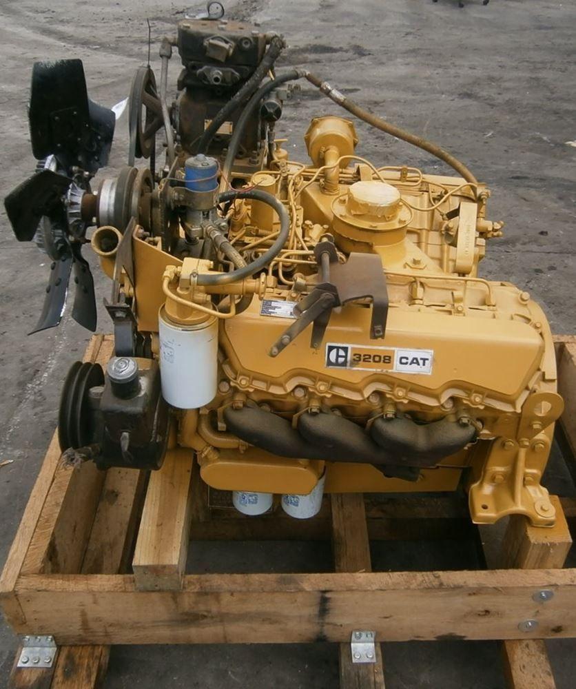caterpillar 3208 v 8 diesel engine truck engine hemi engine  [ 836 x 1000 Pixel ]
