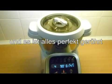 YouTube Krups prep and cook Pinterest Puddings and Thermomix - küchenmaschine mit kochfunktion