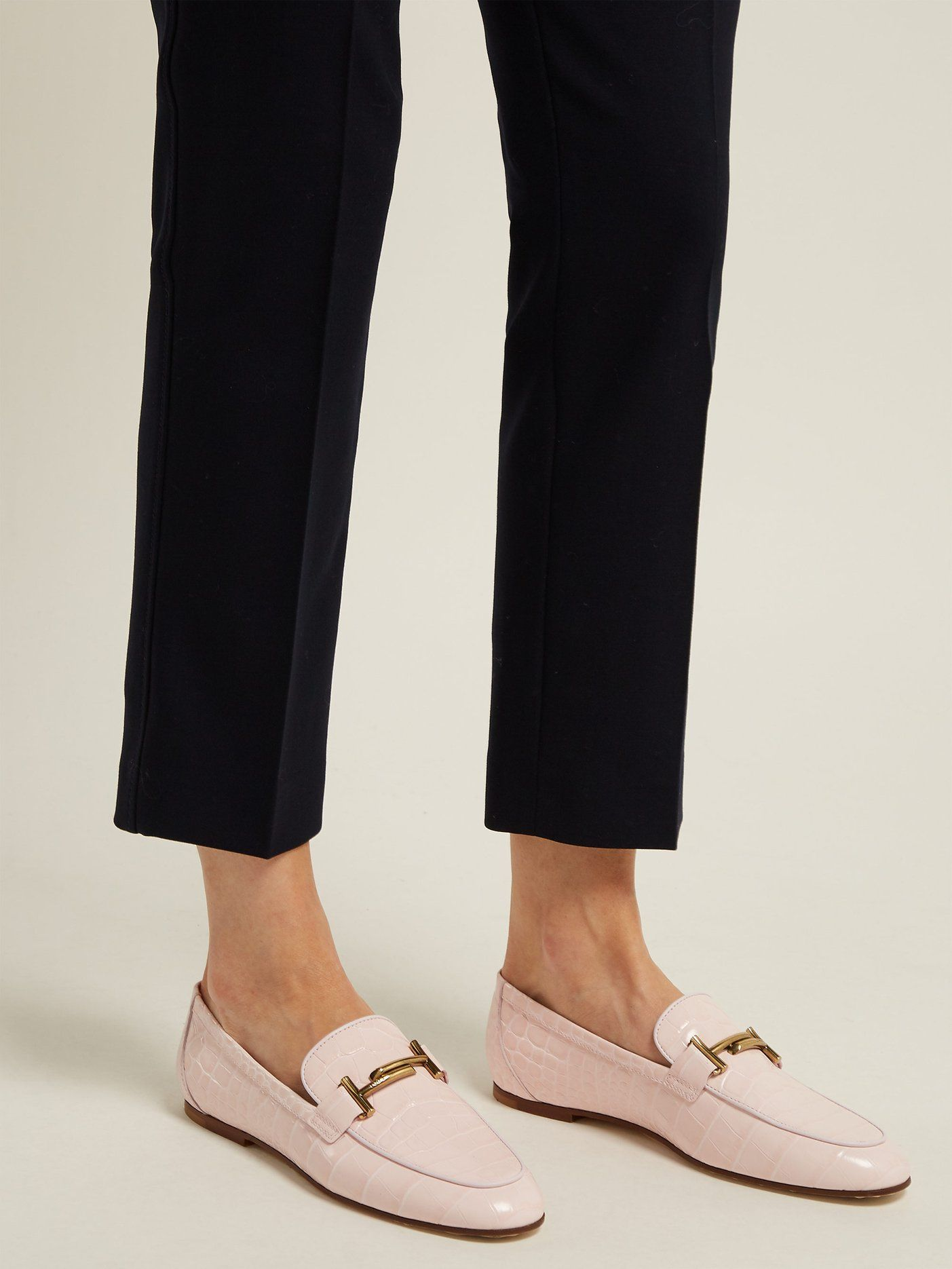 Matchesfashion Shoes Double LoafersTod's com T Leather SUVpzM