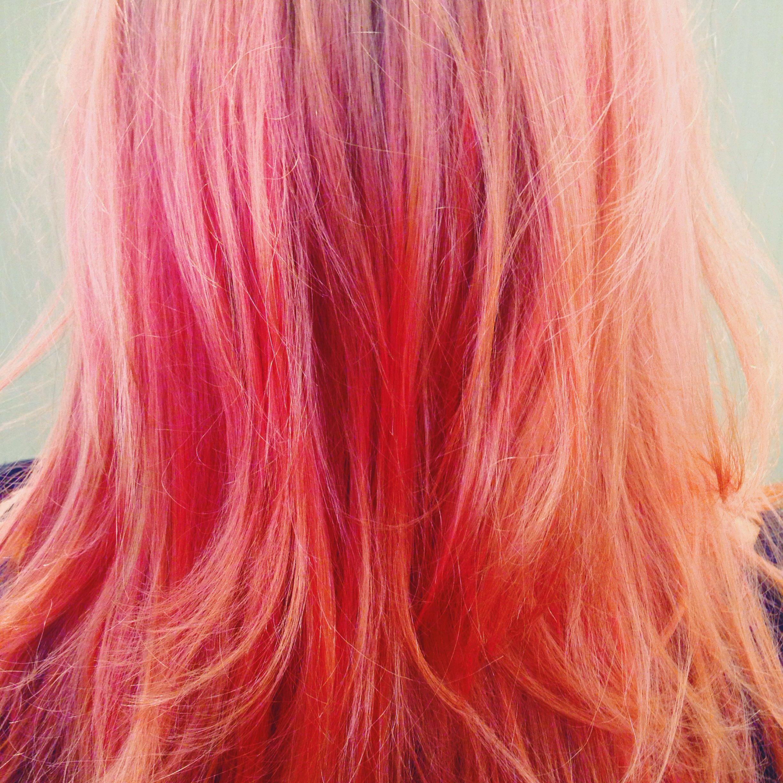 Pink hair colour - PM 037