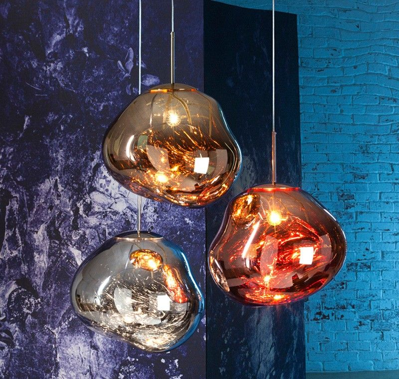 Tom Dixon To Launch Melt Lamps During Milan Design Week Glass Globe Pendant Light Glass Pendant Lamp Globe Pendant Light