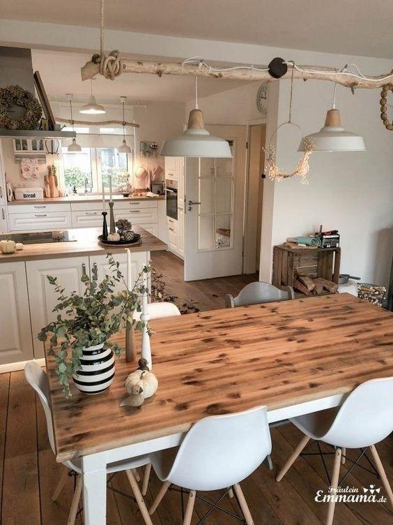 22 Stunning Farmhouse Kitchen Decoration Ideas With Rustic ... on Rustic:yucvisfte_S= Farmhouse Kitchen Ideas  id=43076