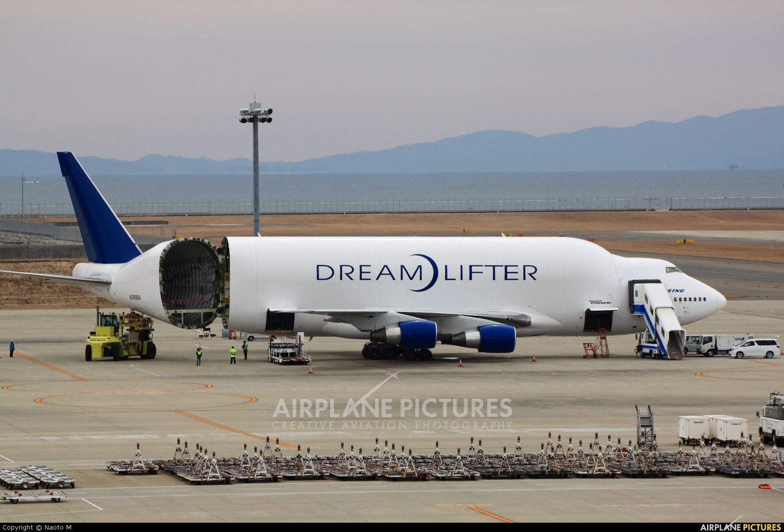 Boeing Company Boeing 747 400lcf Dreamlifter Photo By Nobunaga5050