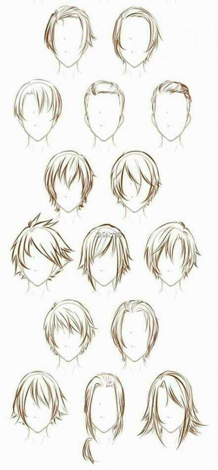Photo of Hair Drawing Reference Male 44+ Trendy Ideas