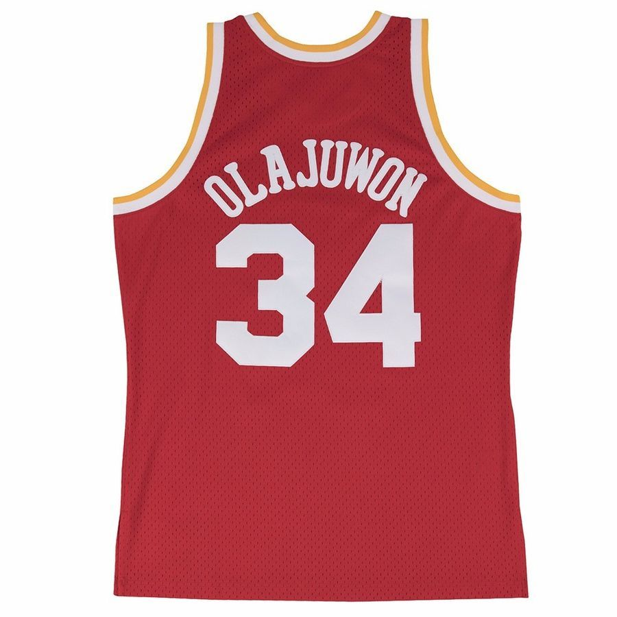 buy popular 93ab0 03ddf NBA Authentic Mitchell & Ness Soul Swingman Throwback Jersey ...