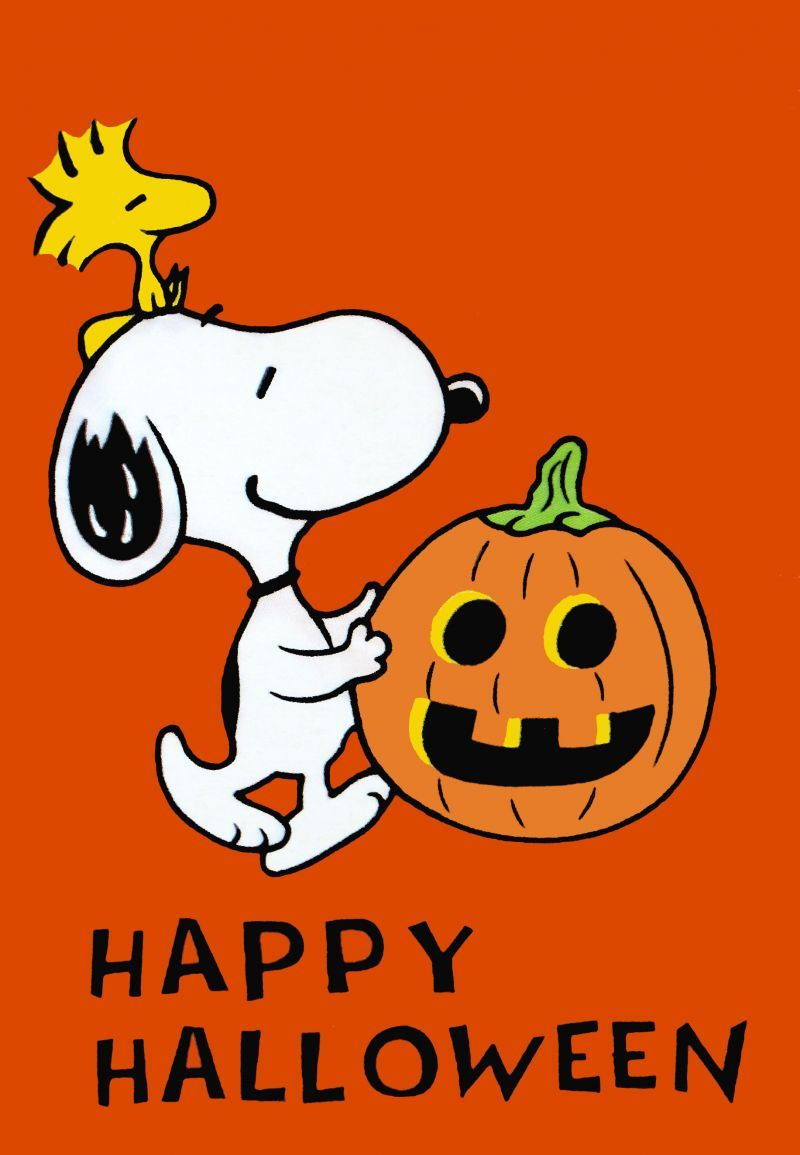 Happy Halloween - Snoopy.....can you hear the piano music that ...