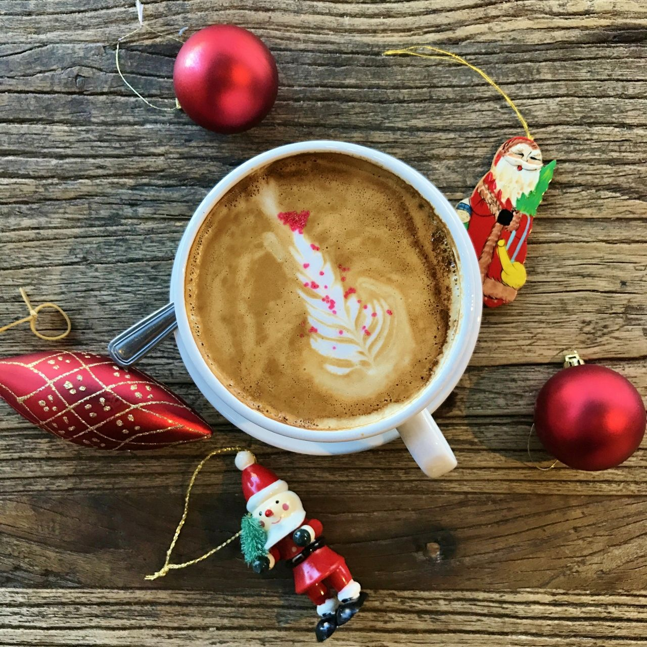 Feelingfestive with a merrycoffee as we