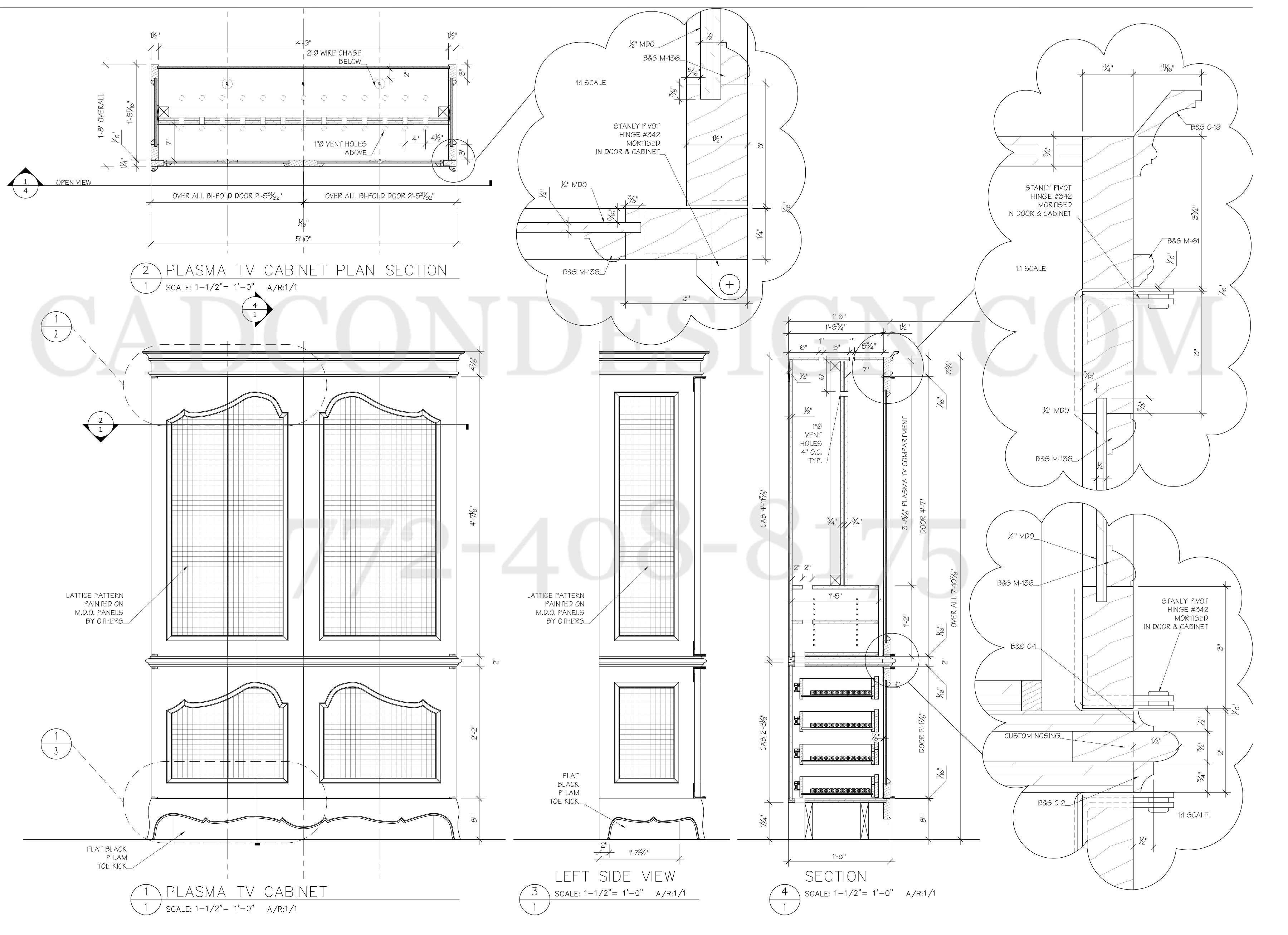 Architectural Drawing Door millwork shop drawings are like an insurance policy. that is