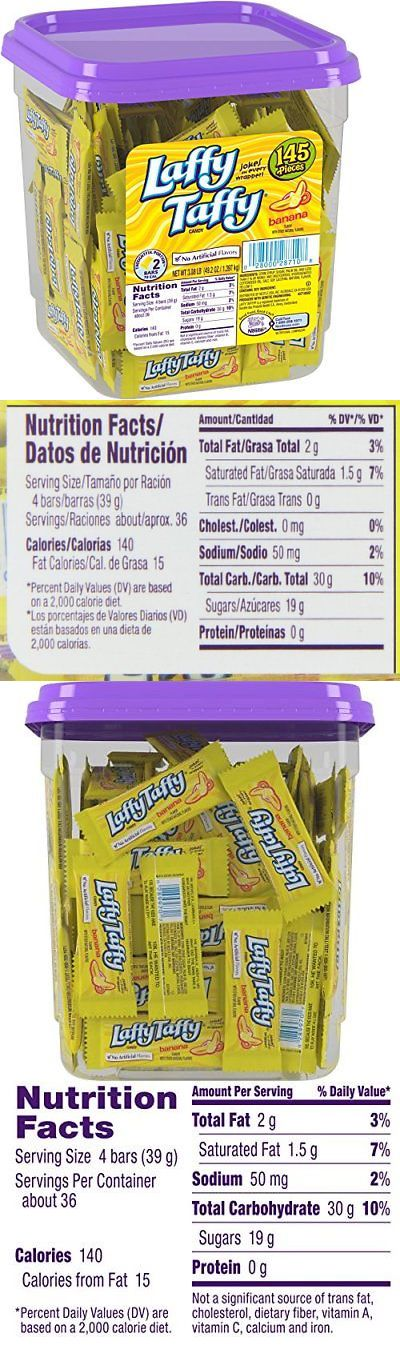 Chewy Candy 159892 Laffy Taffy Candy Jar Banana 145 Count Buy It Now Only 16 8 On Ebay Chewy Candy Laffy Laffy Taffy Candy Jars Laffy Taffy Candy