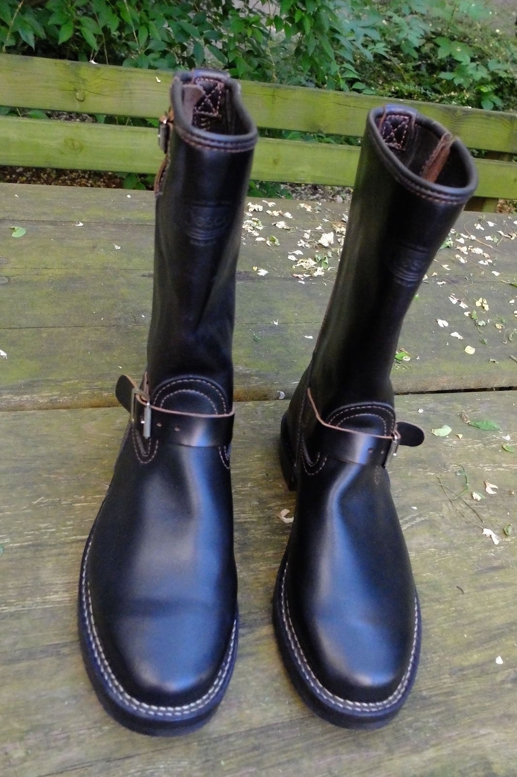 Wesco Engineer Boots Horsehide 10 D | eBay