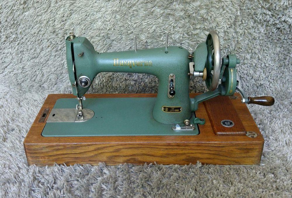 Sold *** Husqvarna 12 | Antique Sewing Machine | Sweden