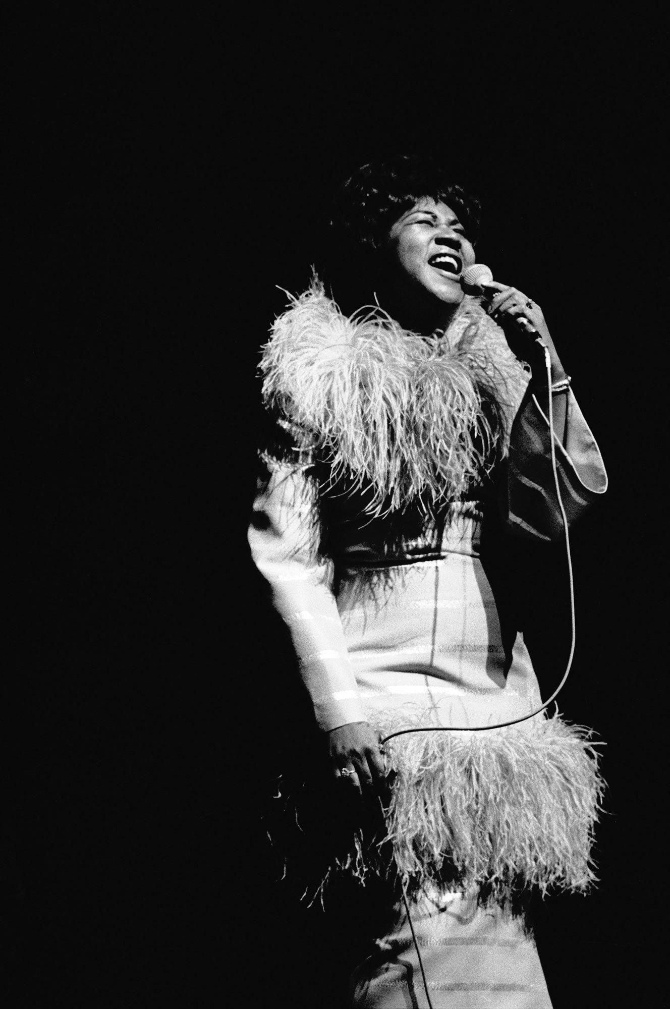 Aretha Franklin Singer Pianist Queen Of Soul Actress Soul