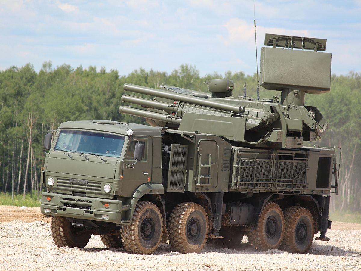 Russia to Upgrade Pantsyr MediumRange SurfacetoAir