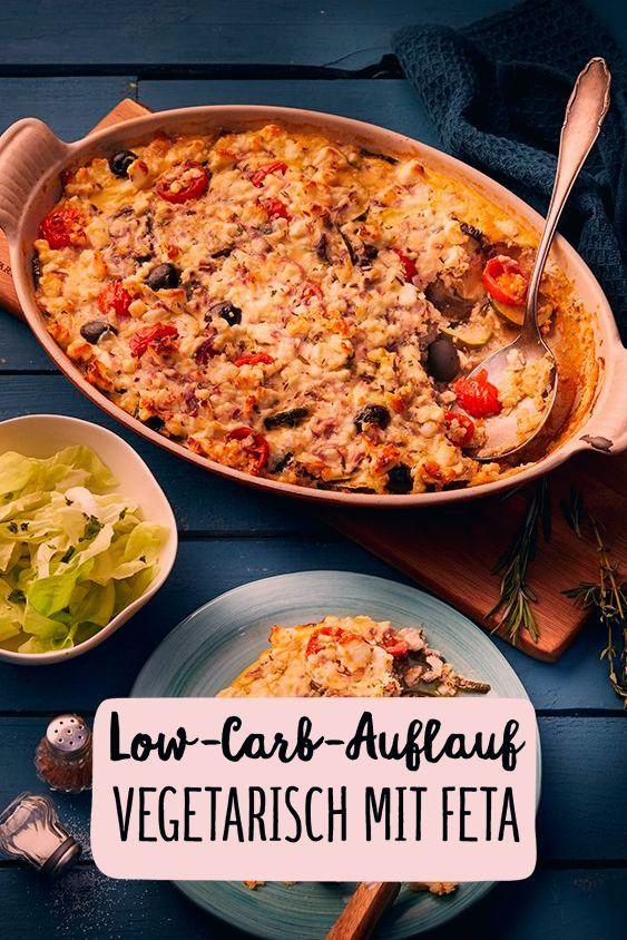 Low Carb Aufflauf Vegetarisch Feta Abendessen Gratin Auflauf Gemüse Hauptgericht Studentenrezept Käs...
