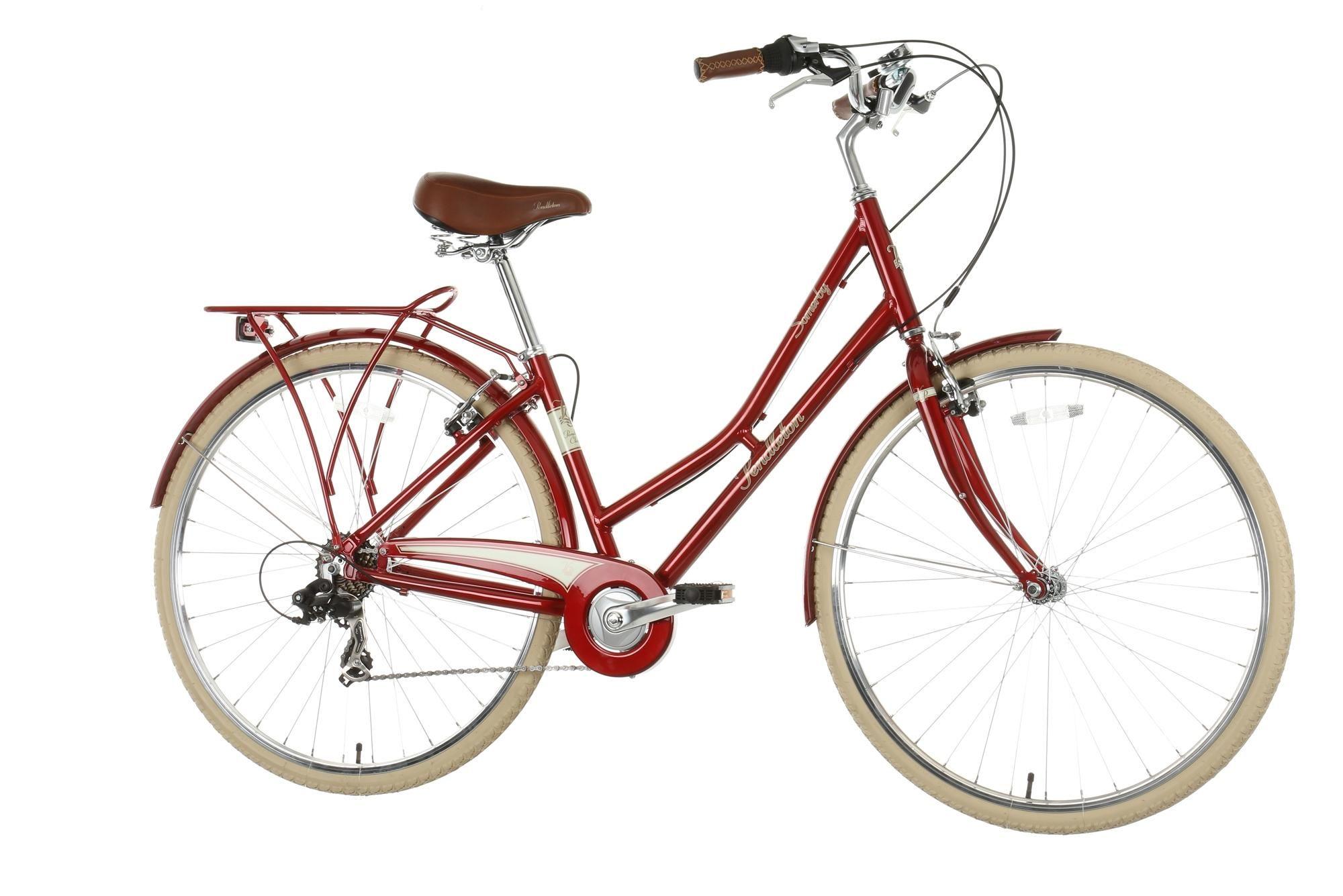 Pendleton Somerby Hybrid Bike Red Hybrid Bike Vintage Bikes Urban Bike