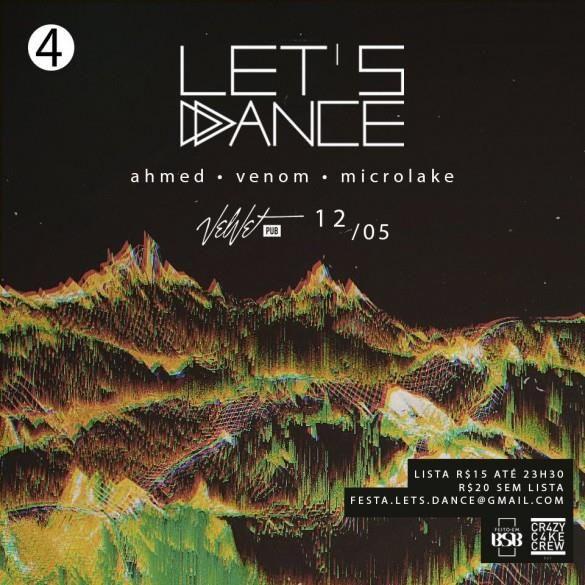 #VEJA Velvet Pub: Lets Dance #agenda @paroutudo via ParouTudo http://ift.tt/25VoRWO #Raynniere #Makepeace