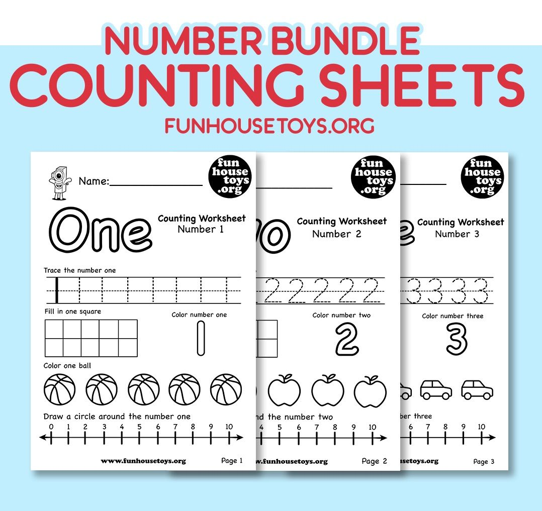 Our Numbers 1 20 Bundle Is A Great Way To Start Teaching