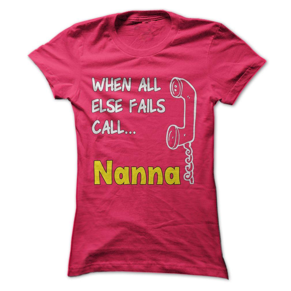 When all else fails call nanna