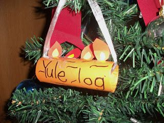Easy Yule Log Ornament Craft For Kids For Christmas In France
