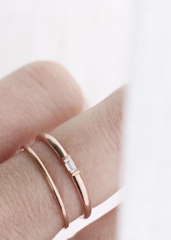 Baguette Diamond Ring | LOVE... | Pinterest | Natural light, Diamond ...