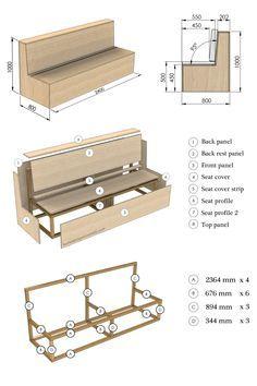 DIY Outdoor Bench Design