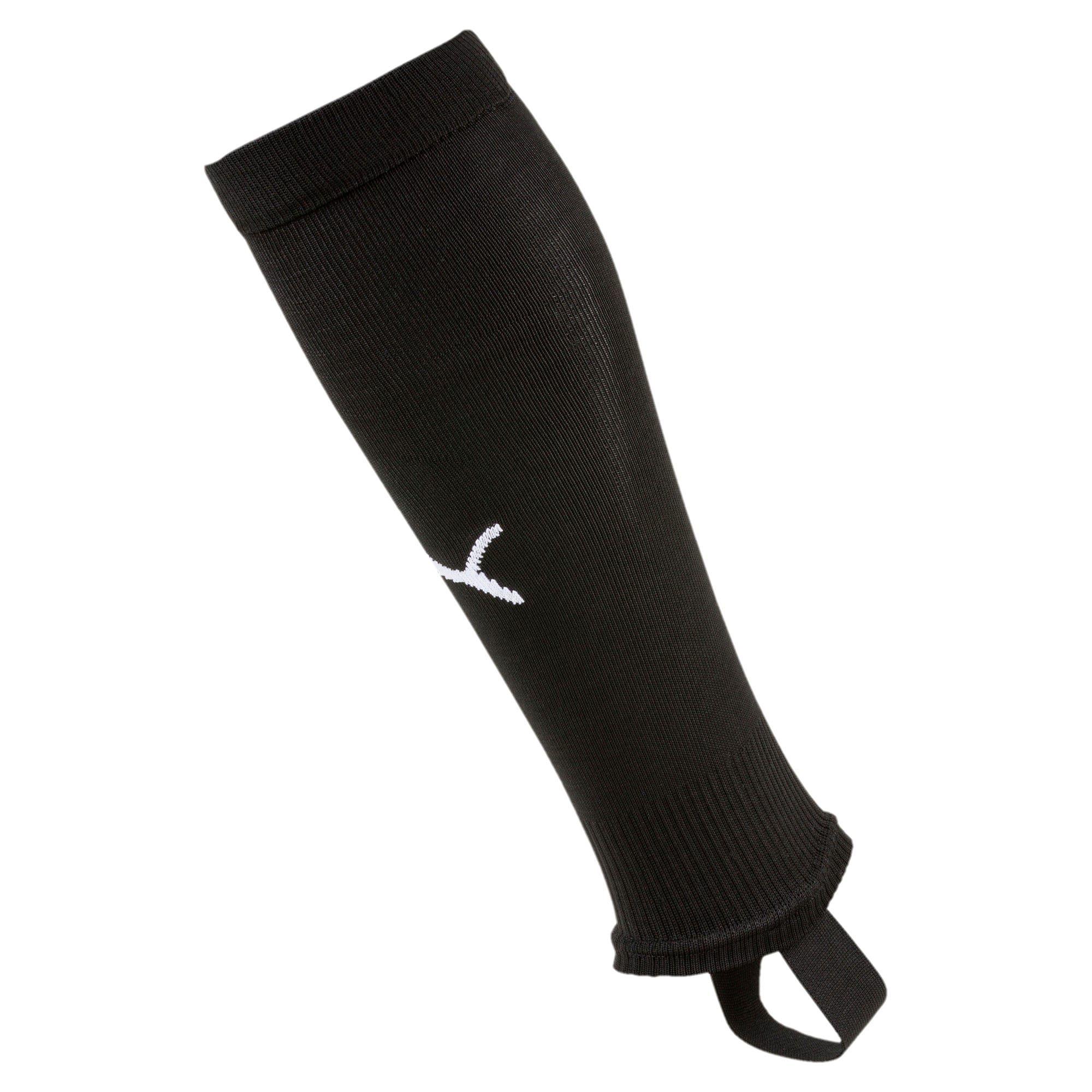 PUMA Chaussettes de foot LIGA avec patte pour Homme, Noir