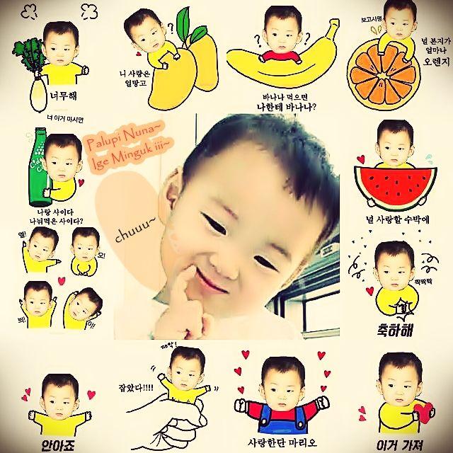 @songilkook appa... I loved sng tripllets so much.... eottoke yo~ minguk