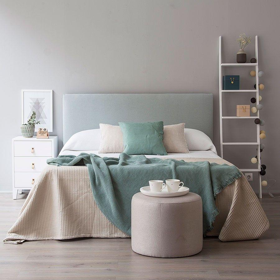 Ares cabecero tapizado cabecero tapizado y dormitorio - Cabeceros tapizados vintage ...