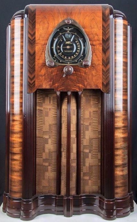 Age Of Diesel Vintage Radio Art Deco Cabinet Art Deco Furniture
